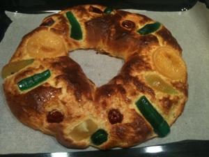 Roscón de Reyes con Thermomix