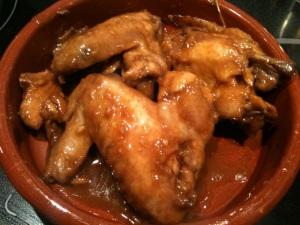 Alitas de pollo estilo asiático (Thermomix)