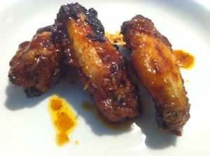 Alitas de pollo a la Naranja